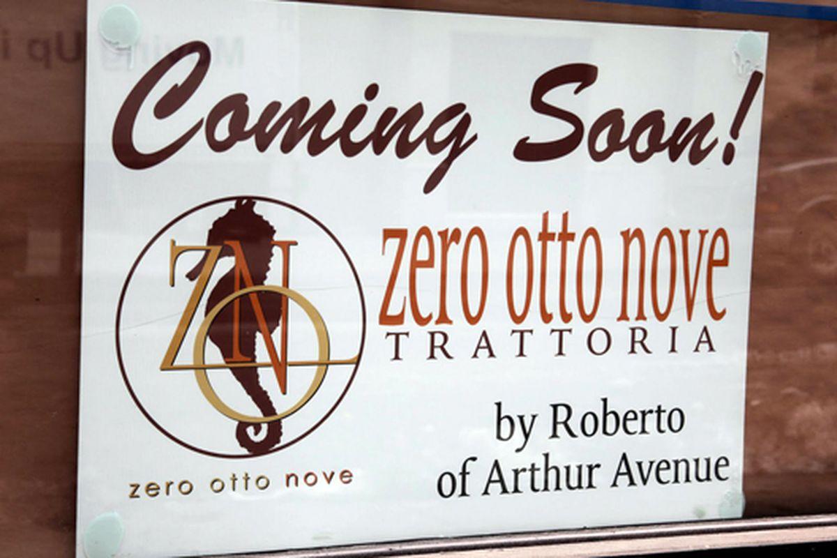 Arthur Avenue S Zero Otto Nove Heads To Manhattan Eater Ny