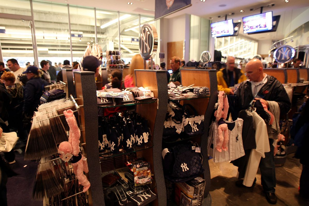 cheap for discount 529ec b0bb5 The weirdest items in the Yankees' team store - Pinstripe Alley