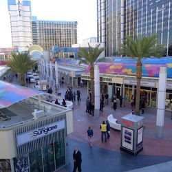 Looking down on the Grand Bazaar Shops, right before it opened.