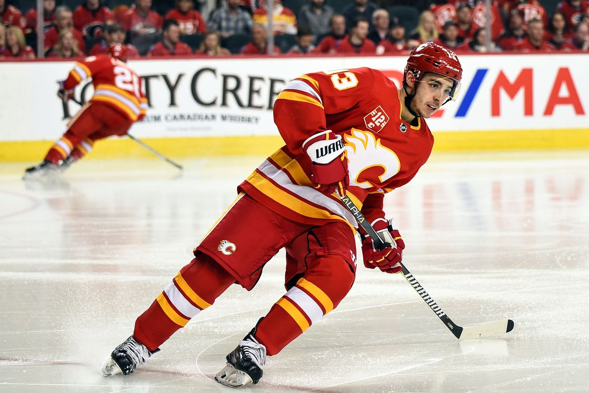 NHL: MAR 02 Wild at Flames