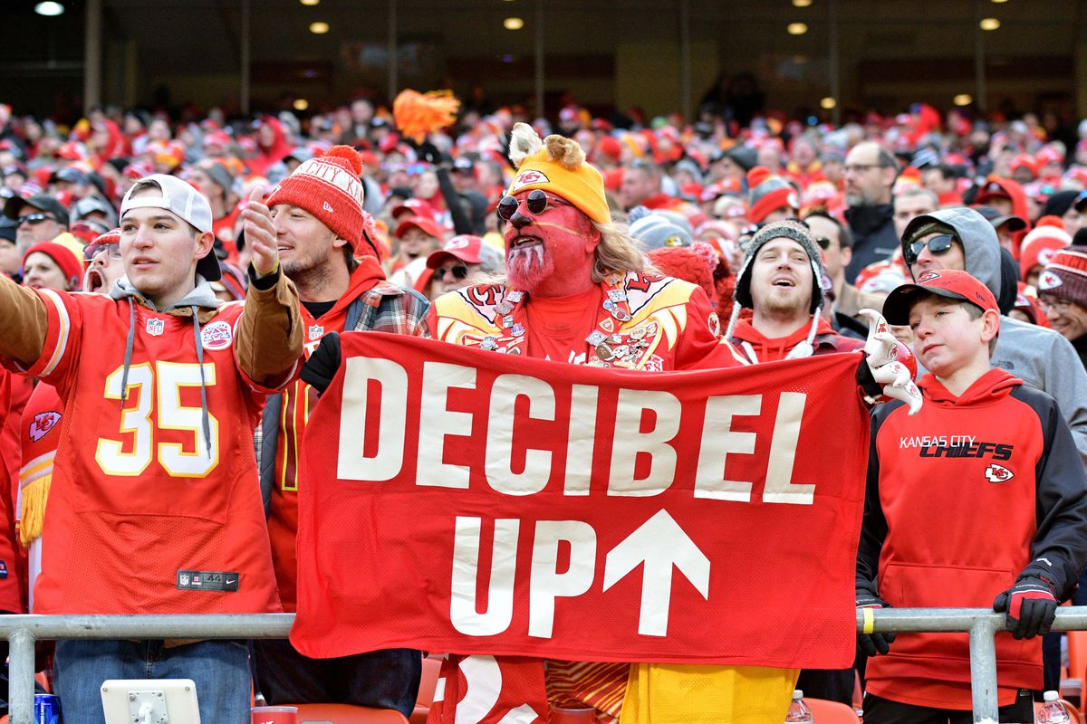 super popular acc60 987f7 Are Kansas City Chiefs fans really the loudest in the world ...