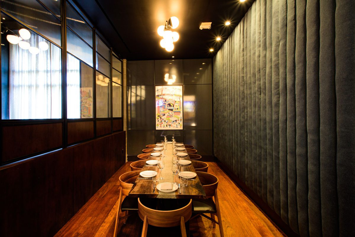 The private dining room at Majordomo