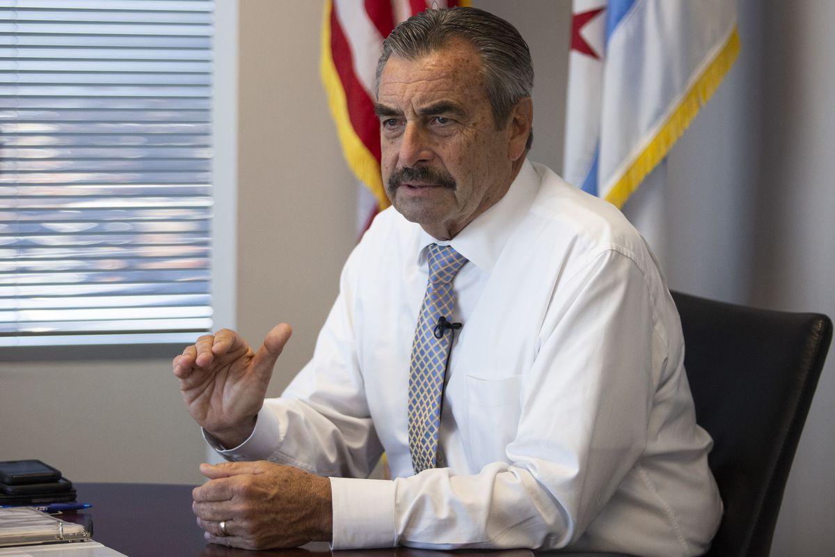 Chicago Police Department interim Supt. Charlie Beck