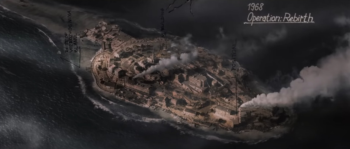 A photo of Rebirth Island from Call of Duty: Black Ops Cold War and Warzone