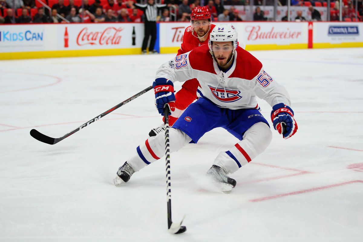 Montreal Canadiaens v Detroit Red Wings