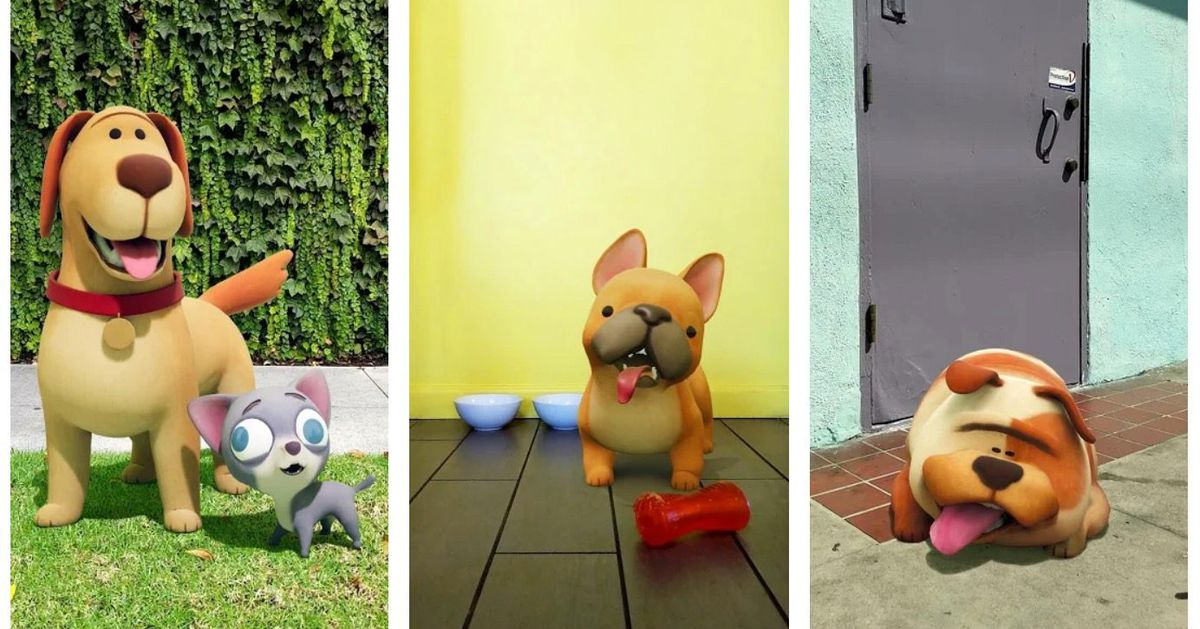 Google rebrands AR stickers as a playground and adds new