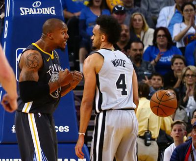 NBA: San Antonio Spurs at Golden State Warriors