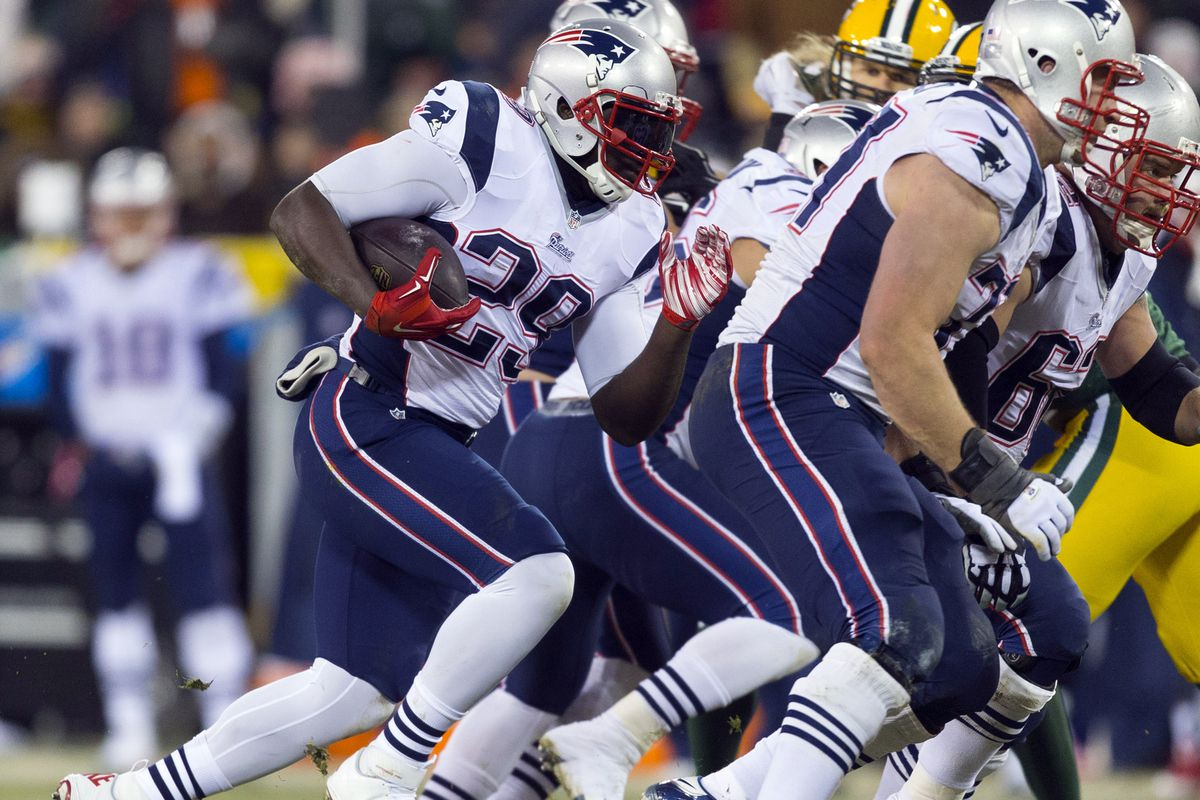 Will the Pats establish the run game against the Chargers?