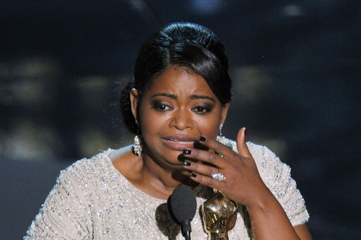 Octavia Spencer won an Oscar for Best Supporting Actress in 2012 — for playing a maid, one of the few Oscar-winning roles available to black women.