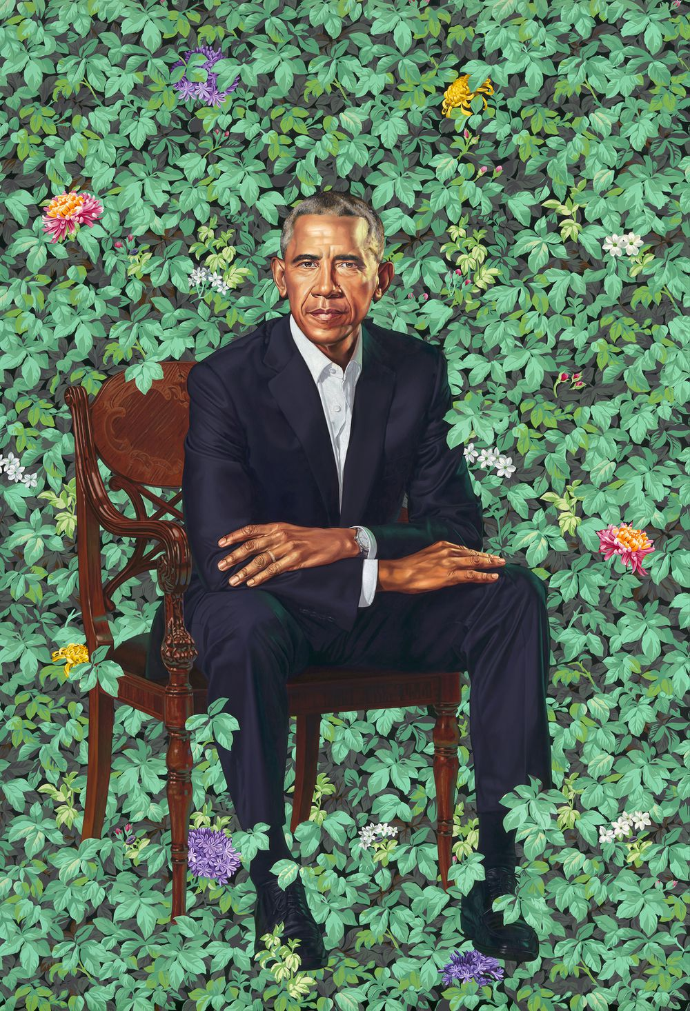 Official presidential portrait of Barack Obama