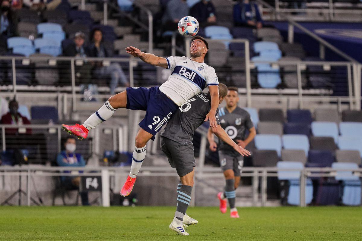 MLS: Vancouver Whitecaps FC at Minnesota United FC