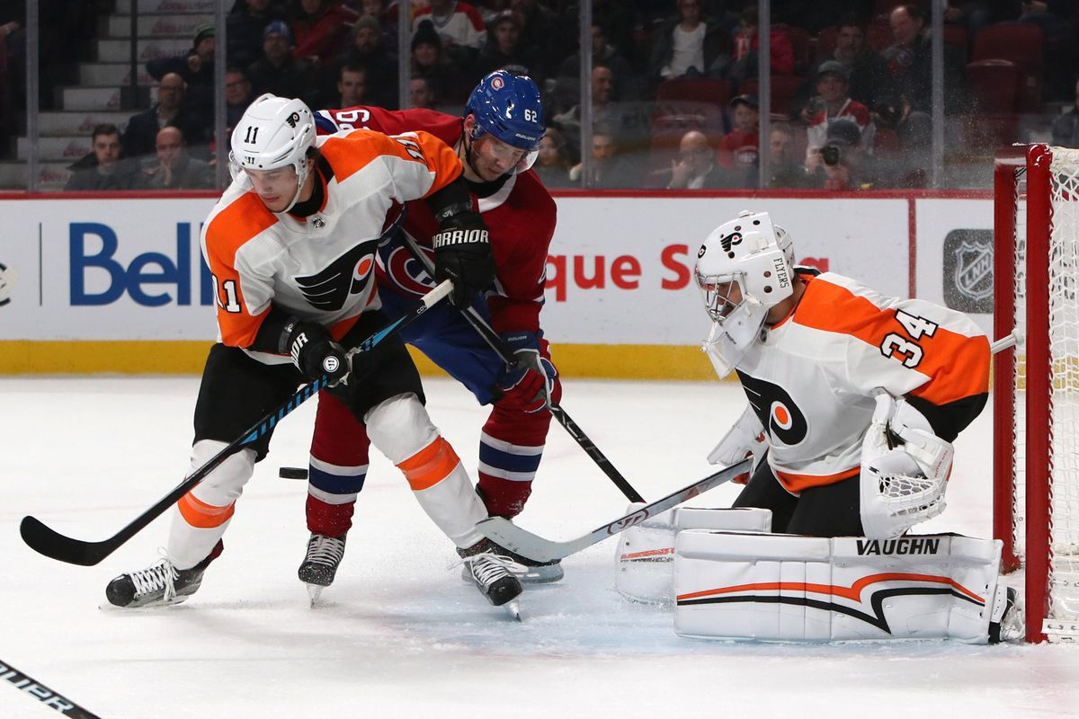 NHL: Philadelphia Flyers at Montreal Canadiens