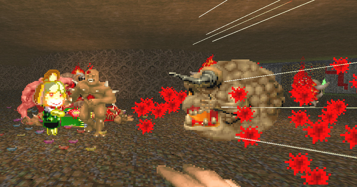 Rip and tear with Isabelle in this classic Doom mod - Polygon