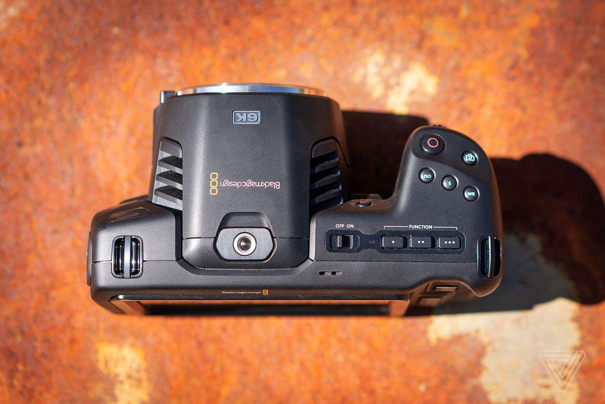 Blackmagic Pocket Cinema Camera 6k Review Dp Starter Kit The Verge
