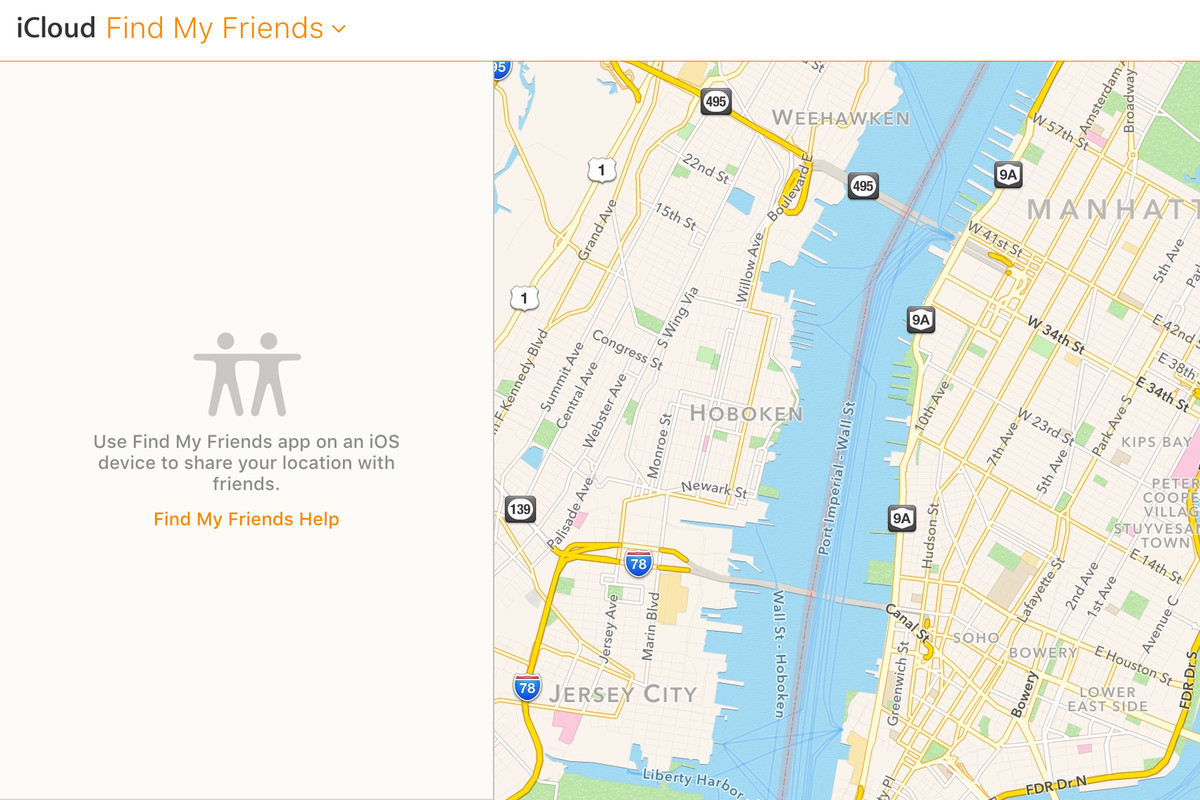 Find My Friends is now accessible on iCloud com - The Verge