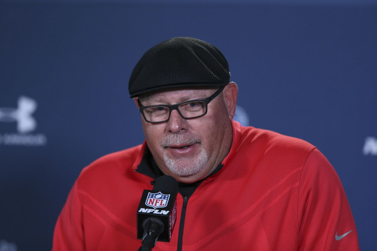 Love that cap.  Bruce Arians is all Hokie and we are sure proud of him.