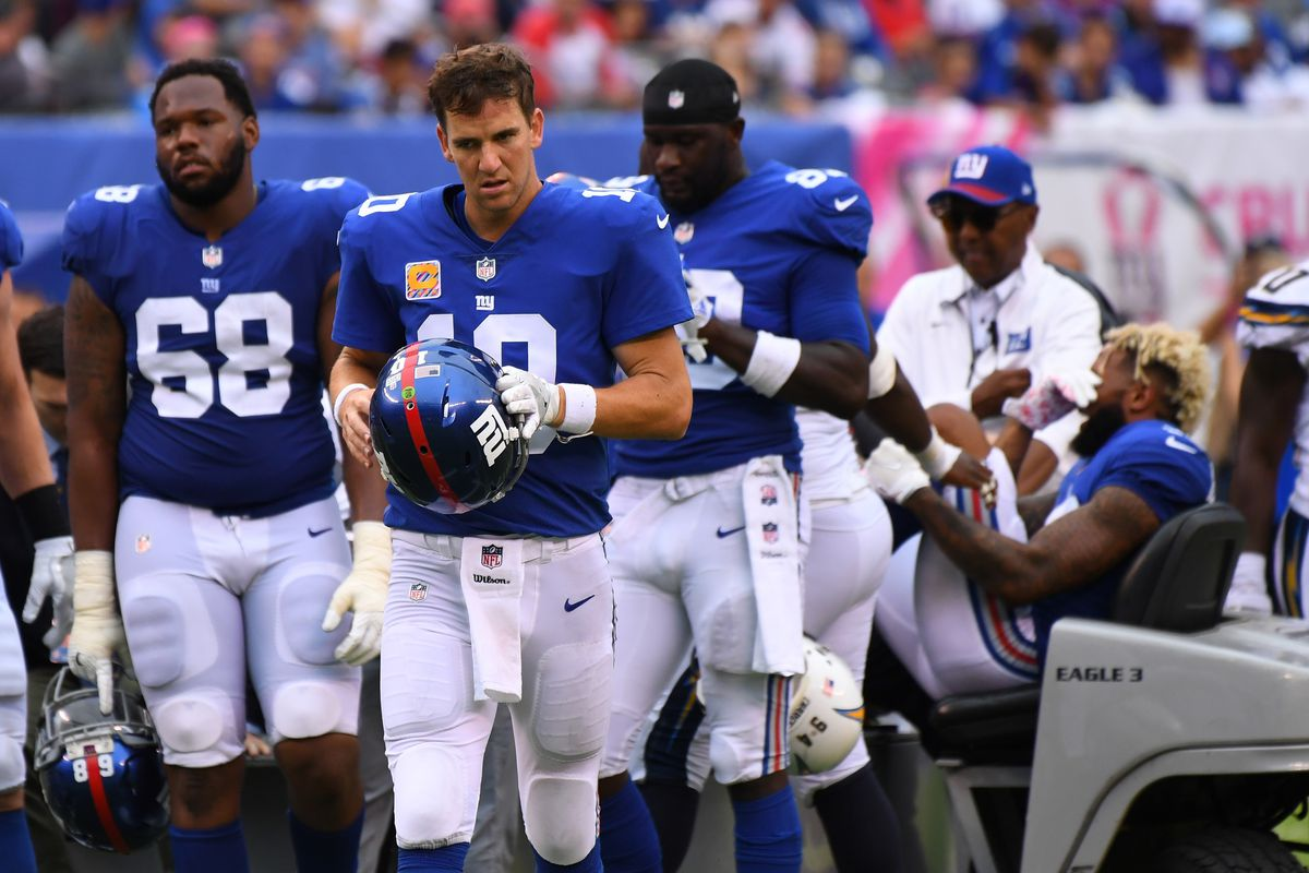 Emmanuel Sanders Carted to Locker Room After Suffering Ankle Injury vs. Giants