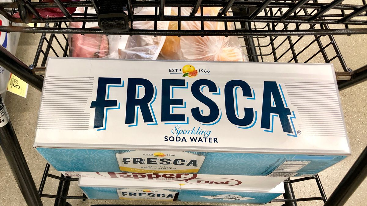 A 12 pack of Fresca.