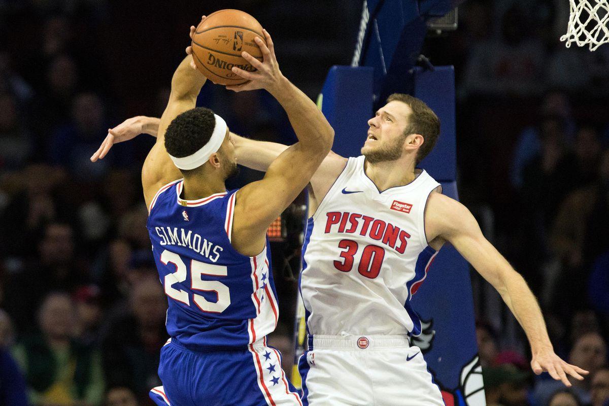 Detroit Pistons vs  Philadelphia 76ers final score: Short-handed