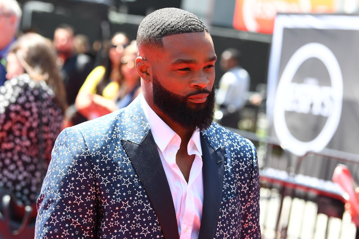 Tyron Woodley at the 2019 ESPYS.