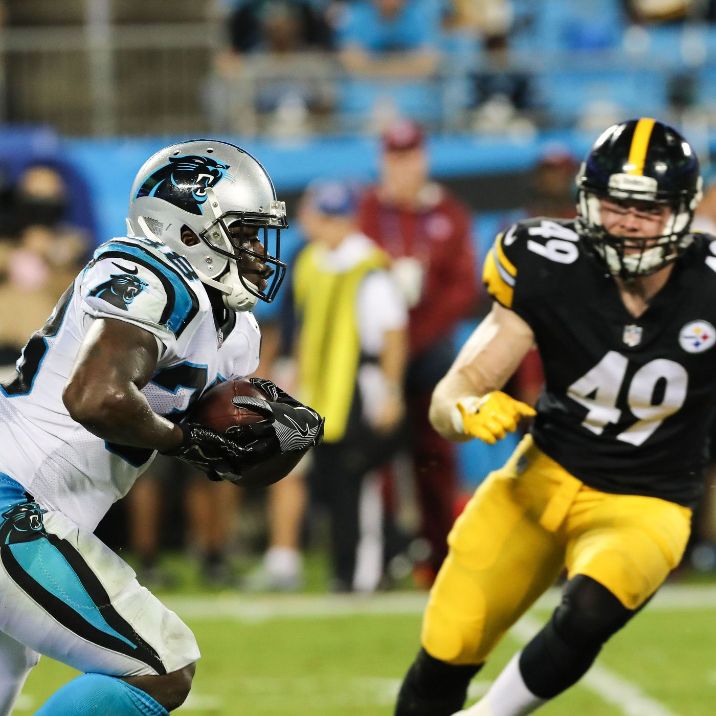 Panthers 24 Steelers 39  Panthers fall short in preseason finale in  Pittsburgh 52b3012fe
