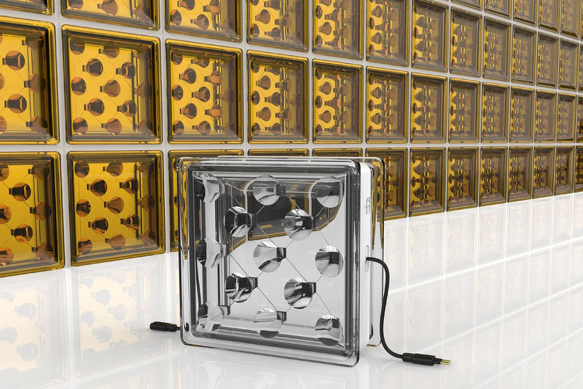 These Solar Glass Bricks Let In Light While Generating