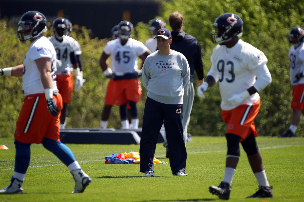 NFL: MAY 13 Bears Rookie Minicamp