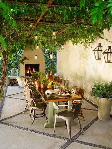 Create A Tuscan Outdoor Room This Old House