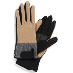 """<b>Echo</b> gloves, <a href=""""http://shop.nordstrom.com/s/echo-touch-colorblock-gloves/3864133?origin=category&BaseUrl=Handbags+%26+Accessories"""">$36</a> (from $48)"""