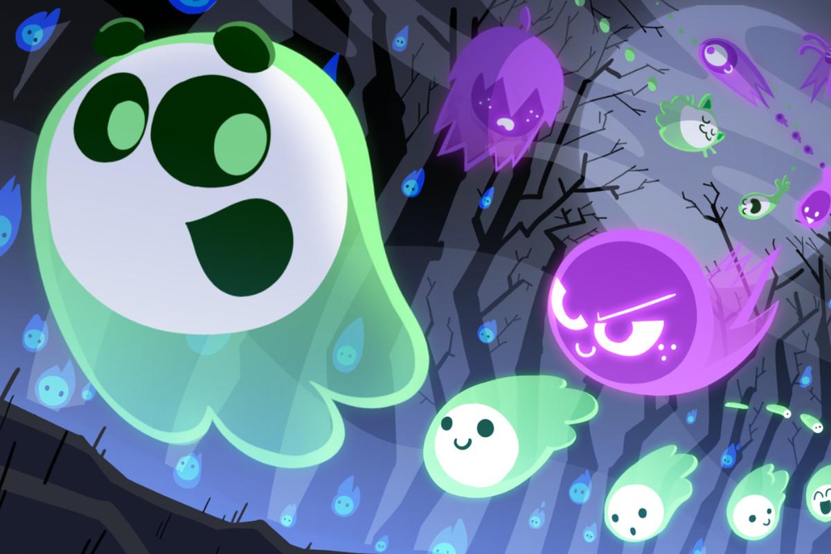 Halloween Google Doodle