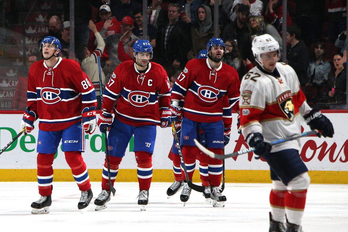 NHL: Florida Panthers at Montreal Canadiens