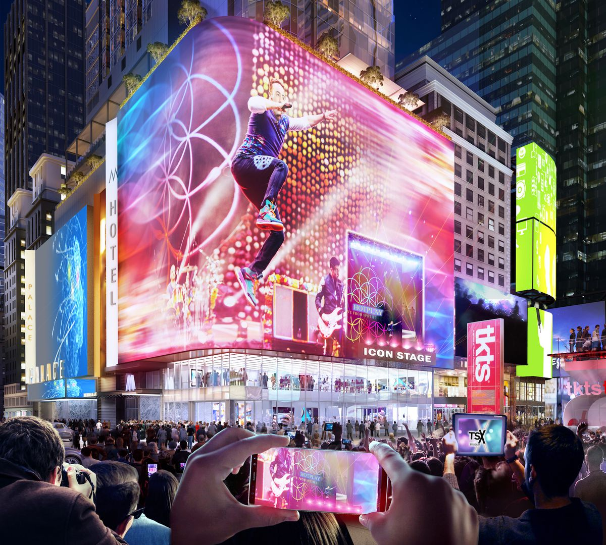 1564 Broadway Nyc Map.In Times Square Two Historic Theaters Get Ready For The Spotlight
