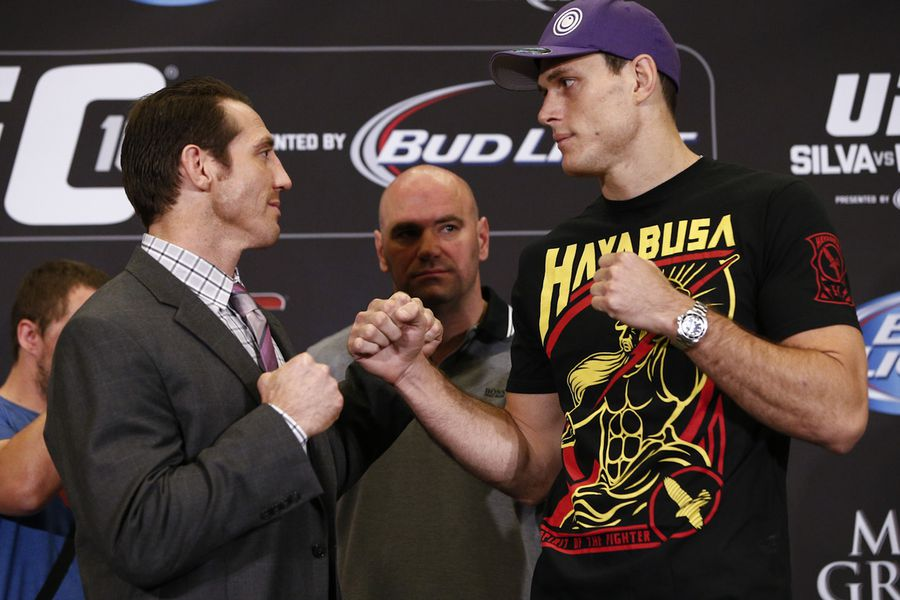 UFC 162 press conference photos - MMA Fighting