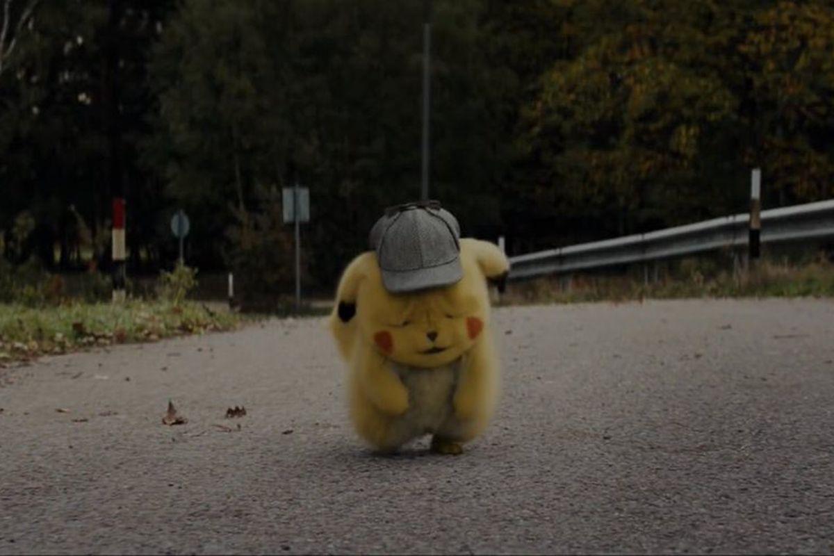 Sad Pikachu from the Detective Pikachu trailer