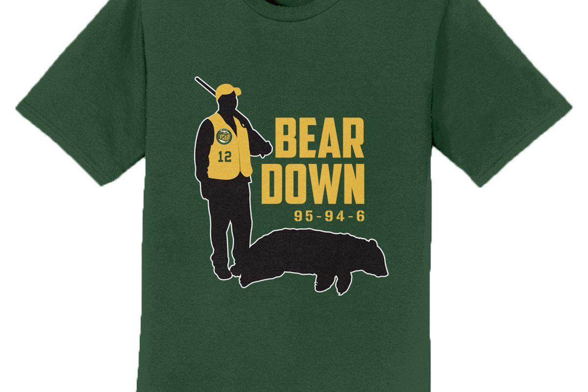 Bear Down shirt 2.0