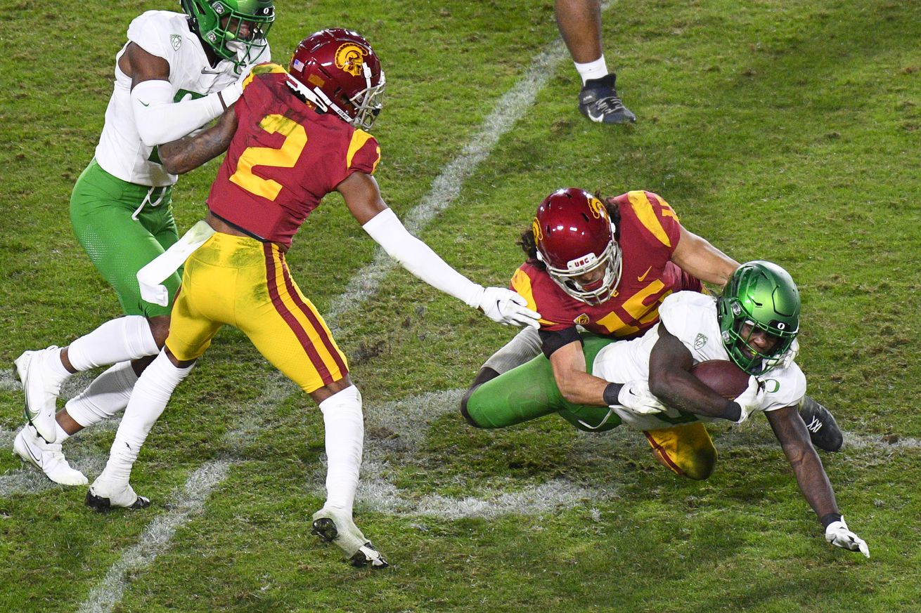 COLLEGE FOOTBALL: DEC 18 Pac-12 Championship Game - Oregon v USC