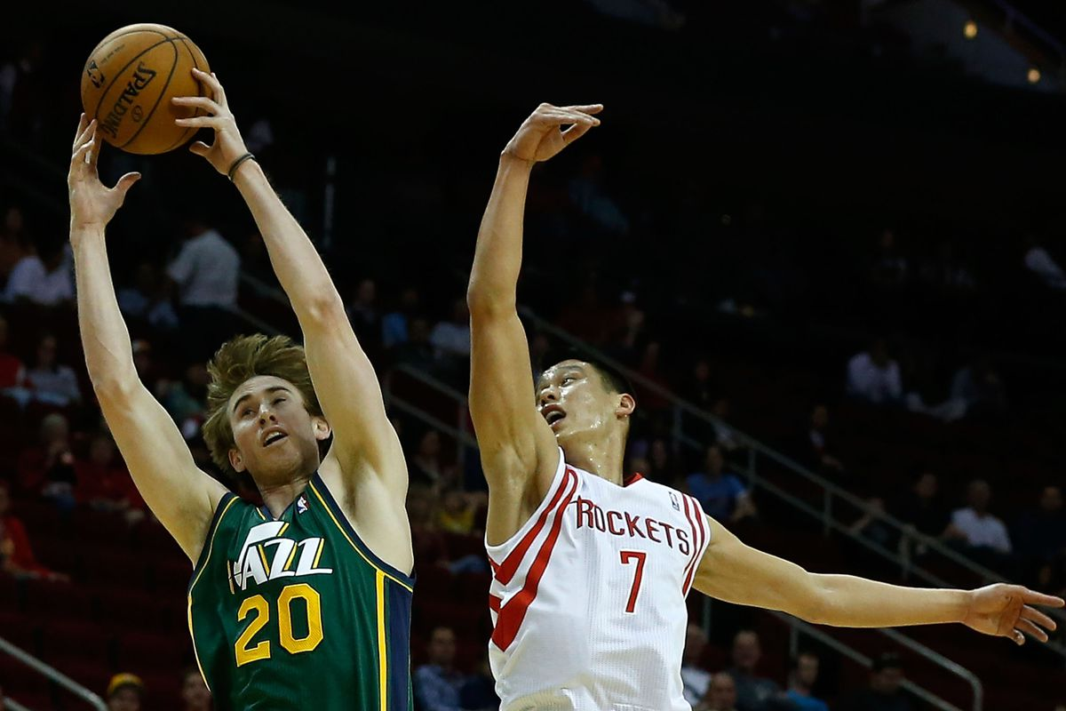 I am better than canned soup!- Gordon Hayward said as he went up for the dunk.