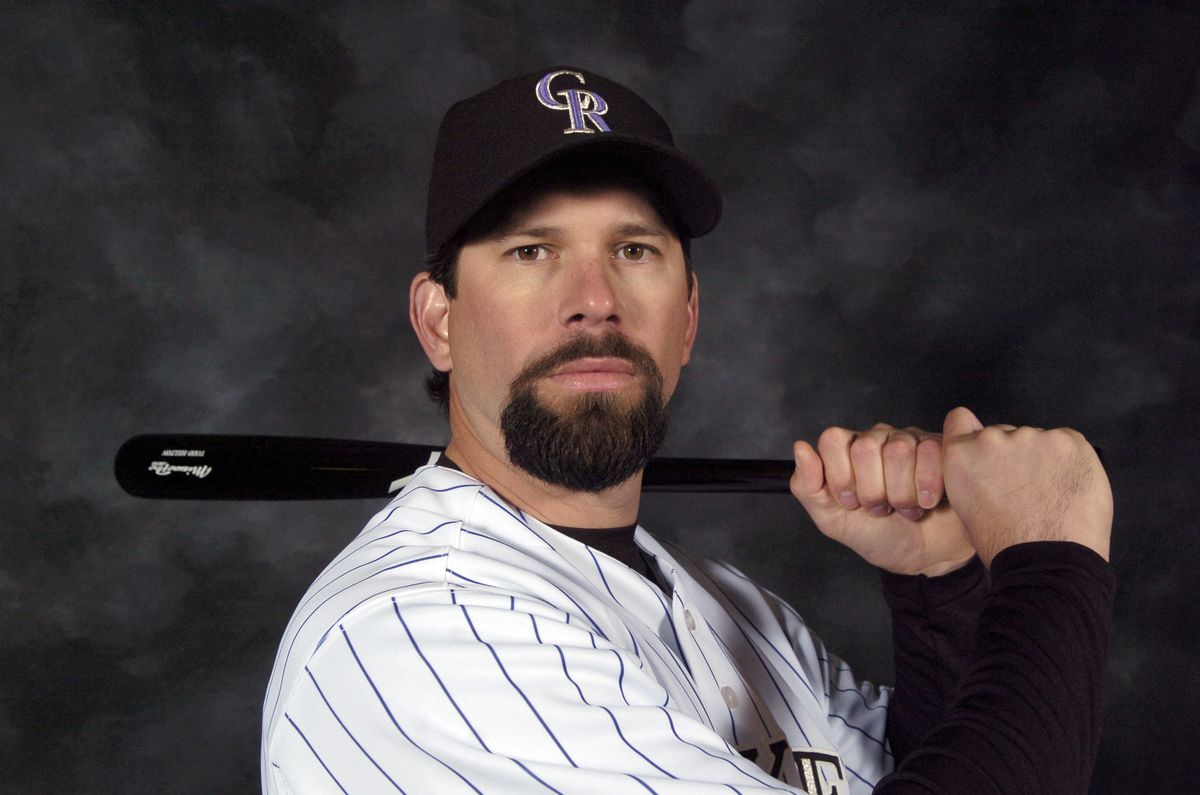 Tucson, AZ_February 26--Colorado Rockie Todd Helton photographed on photo day at Hi Corbett Field in Tucson, AZ on Monday Feb. 26th, 2007. (DENVER POST PHOTO BY Hyoung Chang )