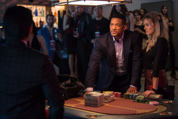 """<strong><em>Will Smith and Margot Robbie star as super-slick con artists in """"Focus."""" 