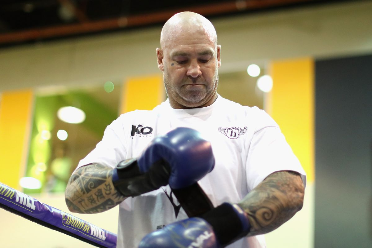 Dillian Whyte and Lucas Browne Media Work Out