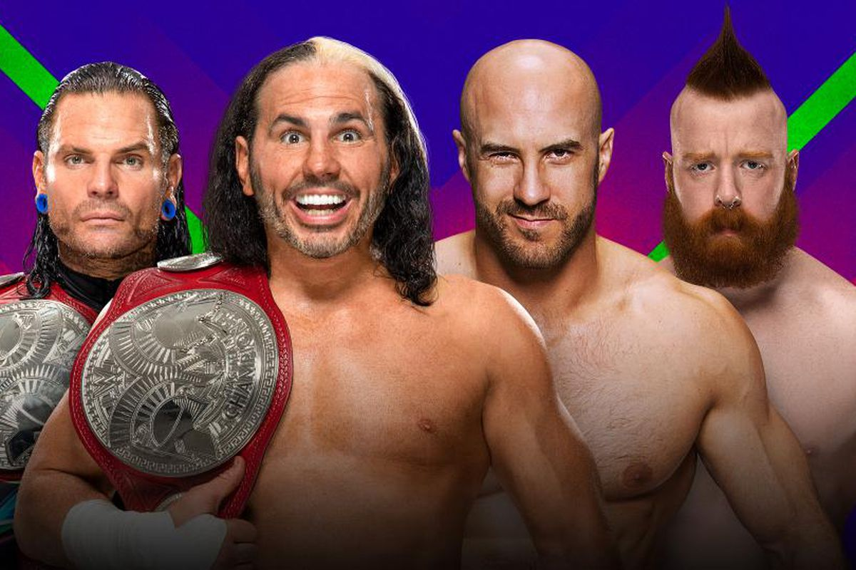 Sheamus And Cesaro Are The New WWE Raw Tag Team Champions