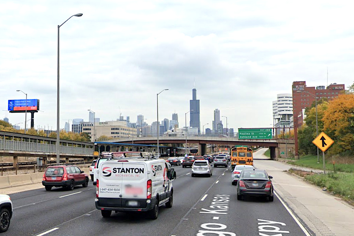 Two CPD members were hurt Oct. 21, 2020, after crashing on the inbound lanes of I-290 near Ogden Avenue.