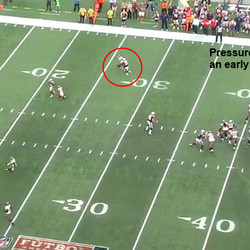 Pressure gets to Freeman