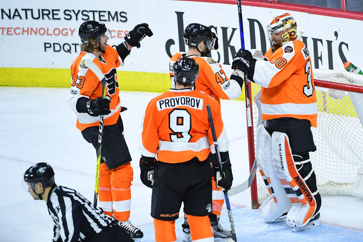 NHL: Toronto Maple Leafs at Philadelphia Flyers
