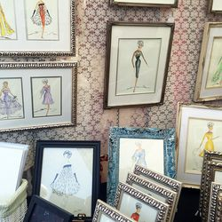 Delightful fashion sketches at A Touch of Hart.
