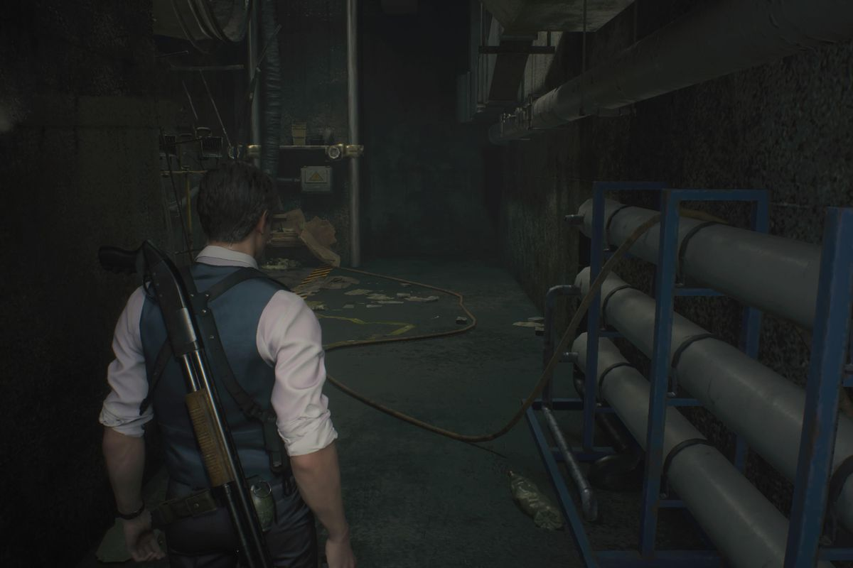 Re2 Remake Leon Sewers Walkthrough Save Ada Solve The Puzzle