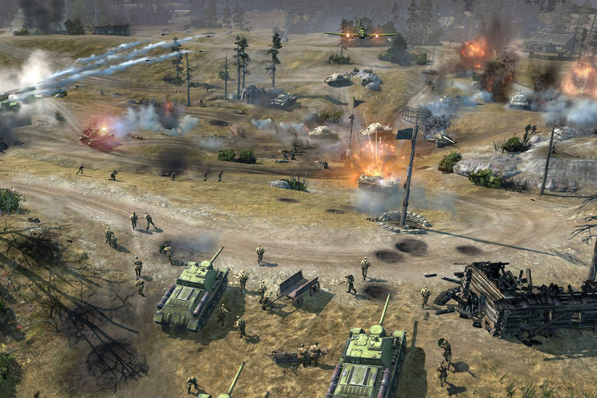 Company Of Heroes 2 Beta Phases Rolling Out April 2 Polygon