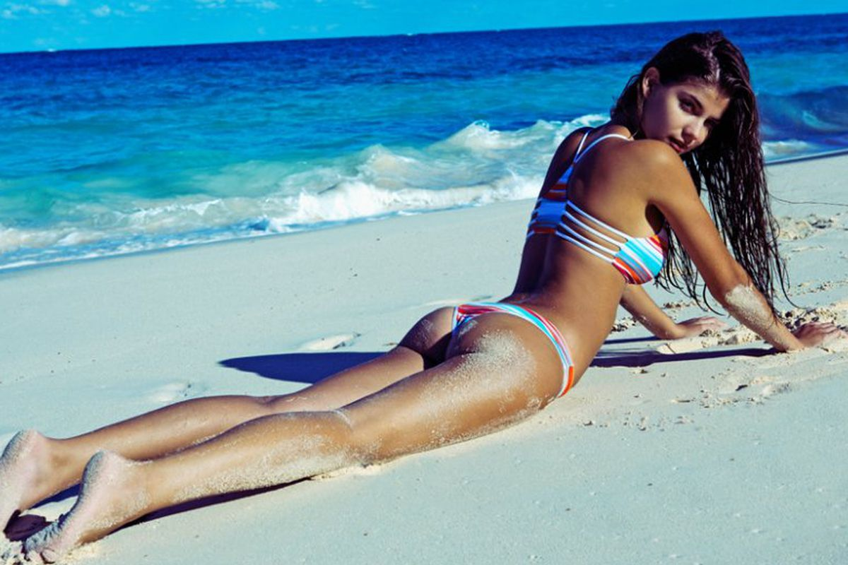"""Photo: <a href=""""http://www.lspace.com/lookbook/summer-2015-lifestyle"""" target=""""_blank"""">L*Space Swimwear</a>"""