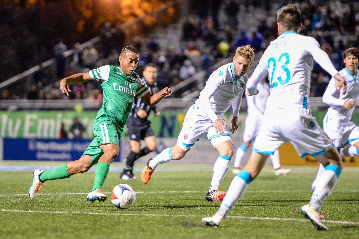 Soccer: Miami FC at New York Cosmos