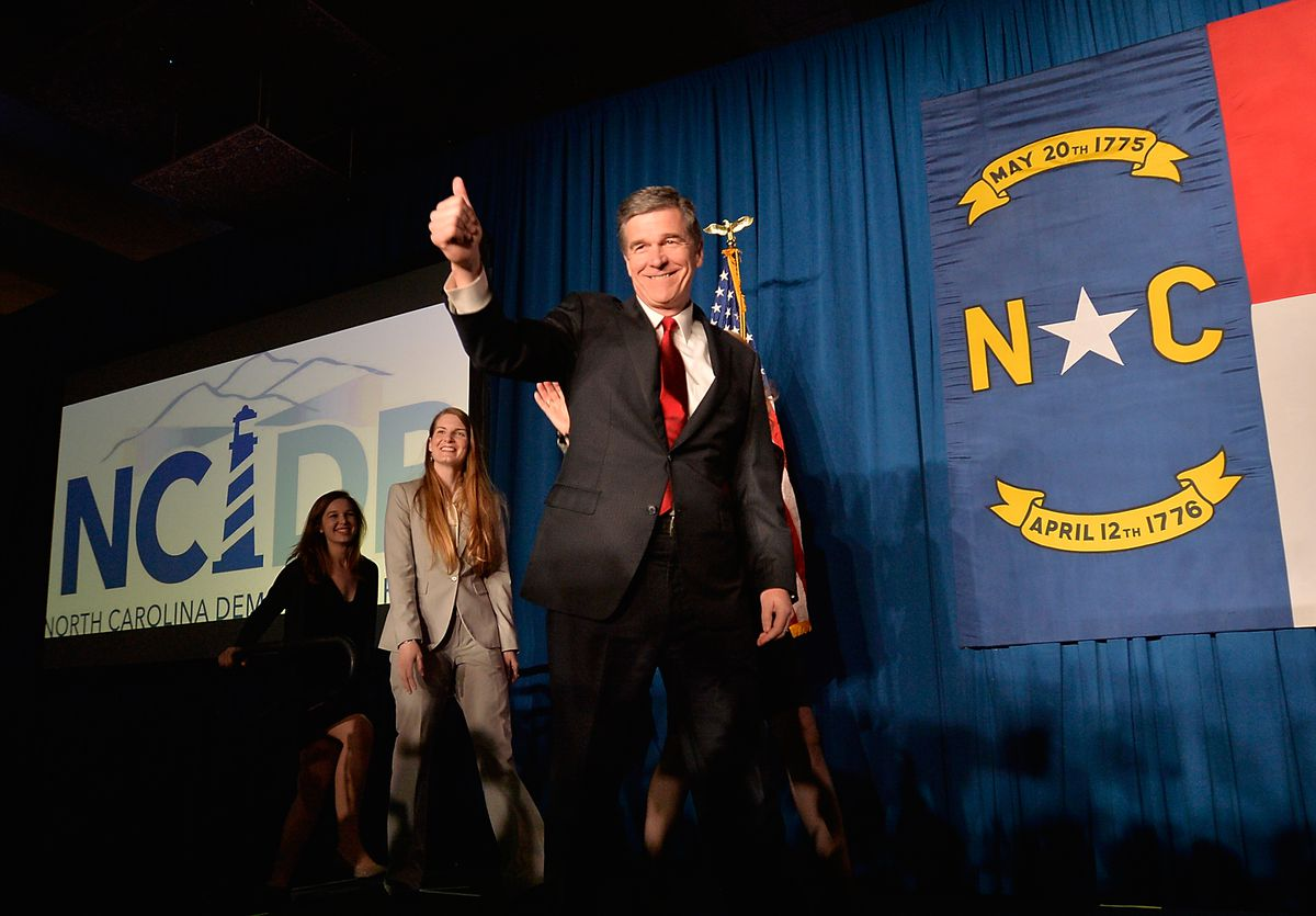 Roy Cooper, the North Carolina Democratic candidate for governor.